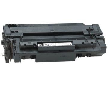 HP Q7551A kasetės pildymas